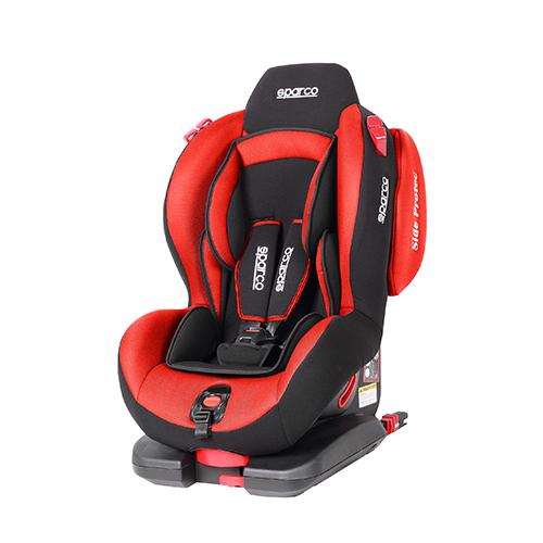 Fotelik samochodowy F500i EVO ISOFIX 9-25 kg czerwony Sparco