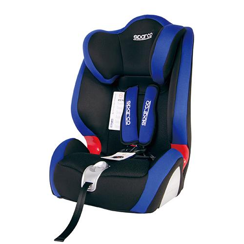 Fotelik samochodowy F1000K 9-36 kg niebieski Sparco