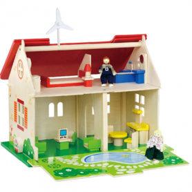 Domek dla lalek drewniany Viga