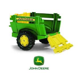 Przyczepa zielona rollyTrailer Rolly Toys