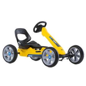 Gokart Reppy Rider na pedały yellow BERG