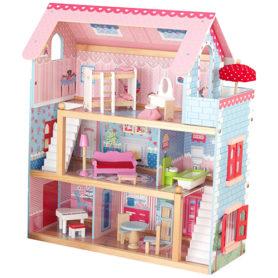 Domek drewniany Chelsea dla lalek KidKraft