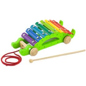 Drewniane Cymbałki Krokodyl Viga Toys