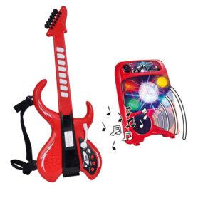 Gitara My Music World Ze Wzmacniaczem Simba