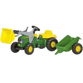 Traktor John Deere przyczepa łyżka na pedały Rolly Toys