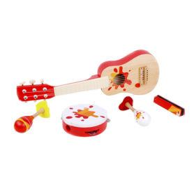 Zestaw Muzyczny Gitara Tamburyn Classic World