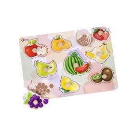 Puzzle Pinezkowe Owoce Dla Dzieci Classic World