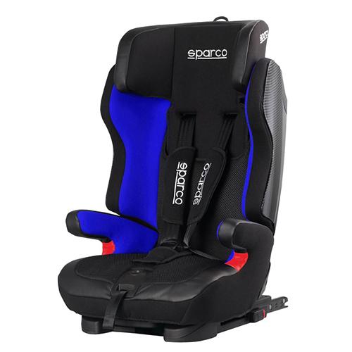 Fotelik samochodowy, Sk700-Bl Isofix 9-36 Kg niebieski Sparco
