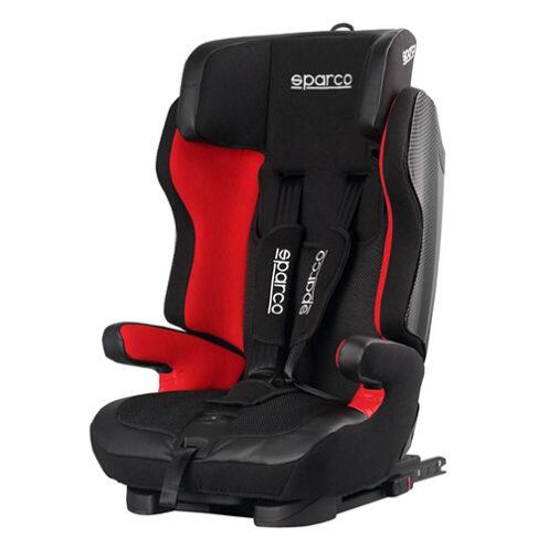 Fotelik samochodowy, Sk700-Rd Isofix 9-36 Kg czerwony Sparco