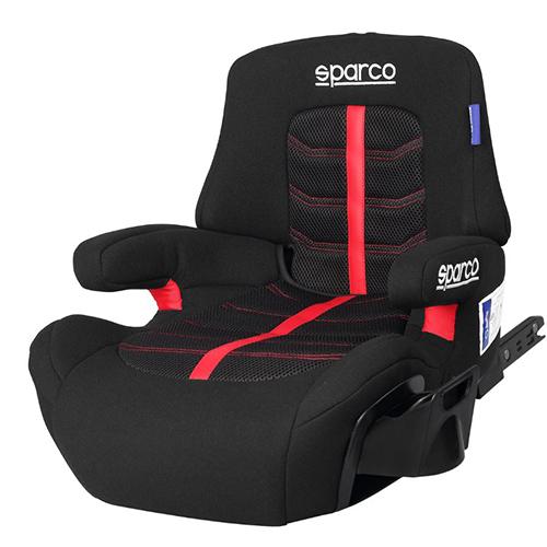 Fotelik samochodowy, Sk900i czerwony Isofix 22-36 Kg Sparco, baby-zone.pl