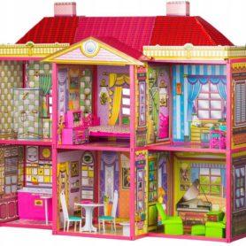 Domek dla lalek Willa z mebelkami