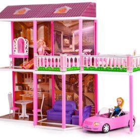 Domek dla lalek z kabrioletem XXL