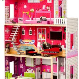 Rezydencja dla lalek Malibu z windą Ecotoys