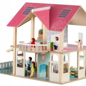 Drewniany domek dla lalek Modern Ecotoys