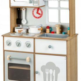 Drewniana kuchnia skandynawska dla dzieci Ecotoys