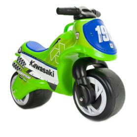 Motor biegowy jeździk Kawasaki zielony Injusa