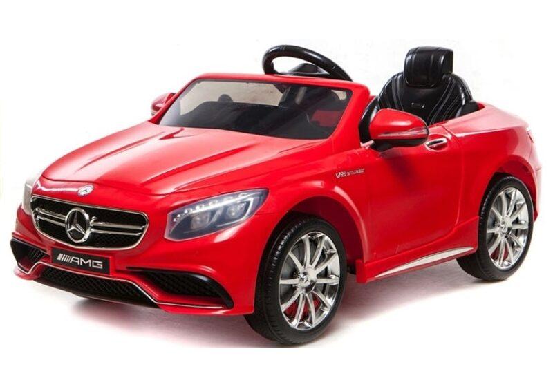 Mercedes S63 AMG Na Akumulator Czerwony, baby-zone.pl