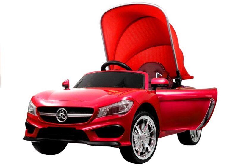 Cabrio z Daszkiem na Akumulator Czerwony