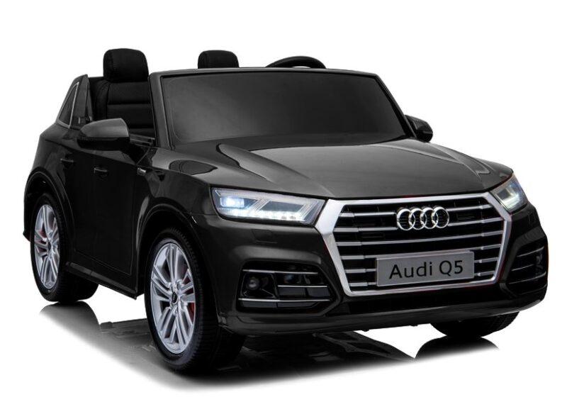 Audi Q5 na Akumulator 2-osobowe Czarne, baby-zone.pl