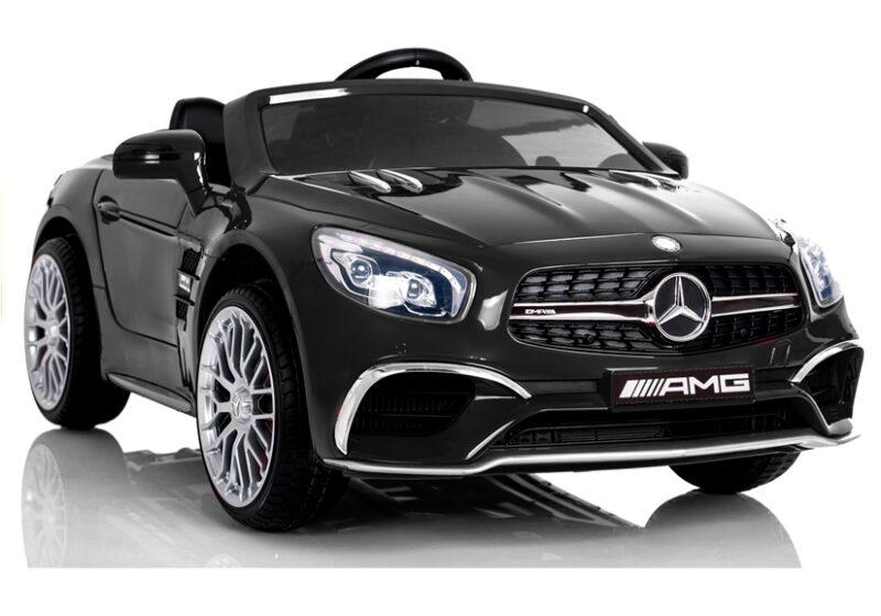 Mercedes SL65 na Akumulator LCD Czarny, baby-zone.pl