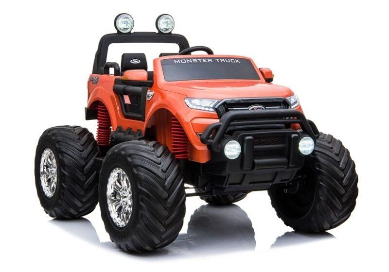 Ford Ranger Monster na Akumulator Pomarańczowy, baby-zone.pl