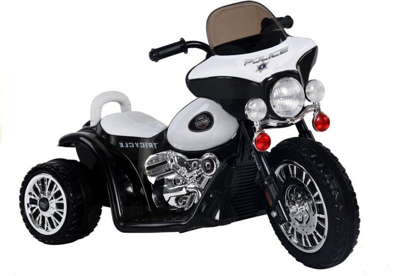 Motor Trójkołowy Tricycle na Akumulator Czarny