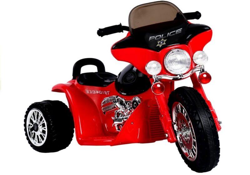 Motor Trójkołowy Tricycle na Akumulator Czerwony