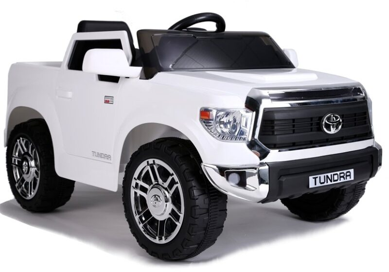 Toyota Tundra na Akumulator Biała