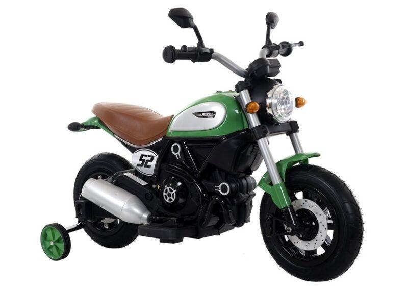 Motor na Akumulator dla dzieci Zielony