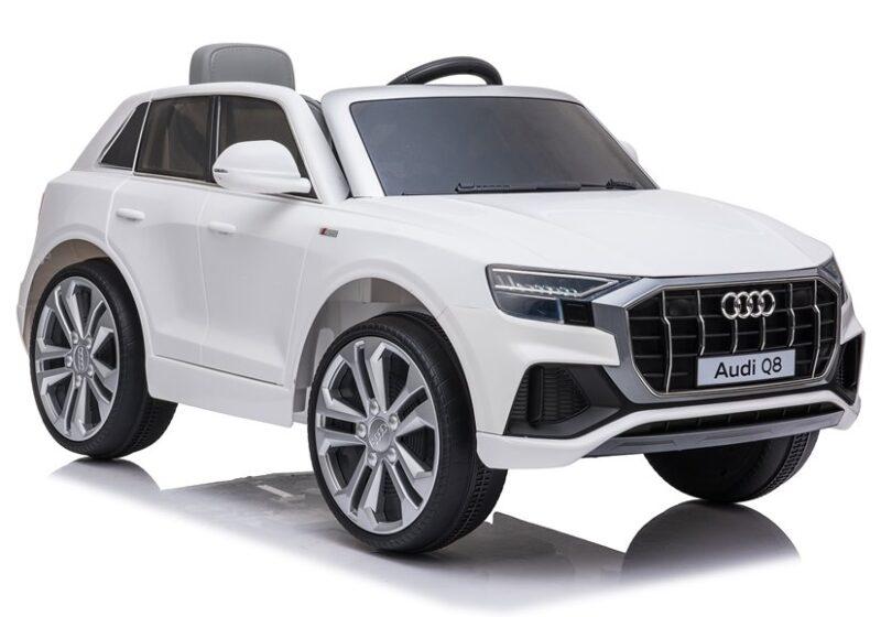 Audi Q8 na Akumulator Biały, baby-zone.pl