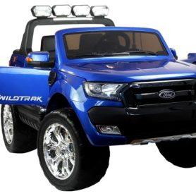 Ford Wildtrak 4x4 na akumulator Niebieski Lakierowany
