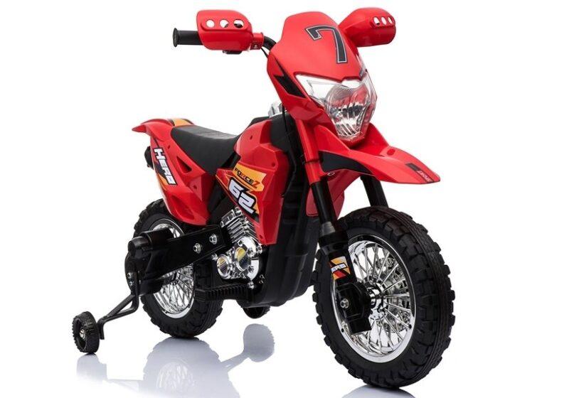 Motocykl na Akumulator Cross Czerwony, baby-zone.pl
