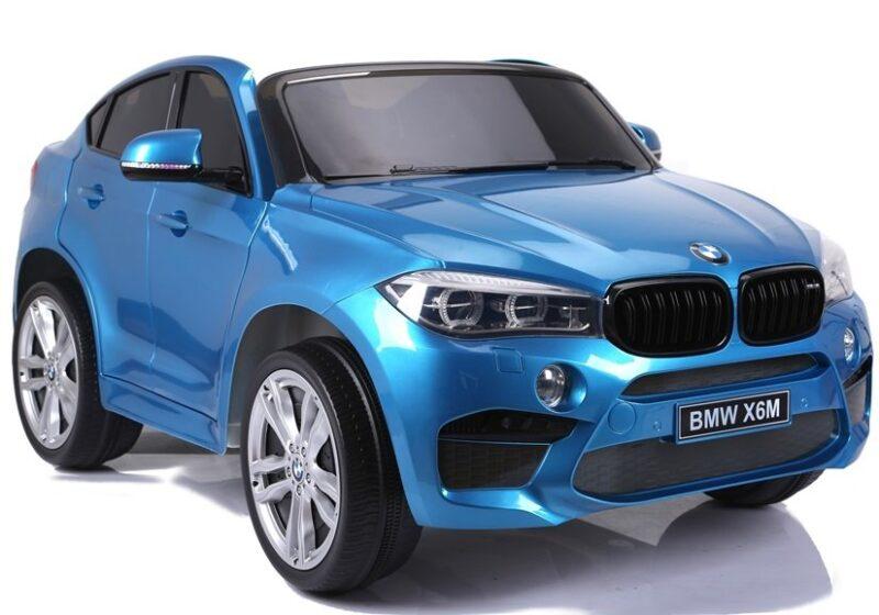 BMW X6M Na Akumulator Niebieskie Lakierowane, baby-zone.pl