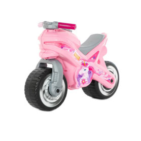 Motorek biegowy jeździk MX Różowy Wader