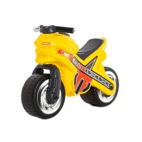 Motorek biegowy jeździk MX Żółty Wader