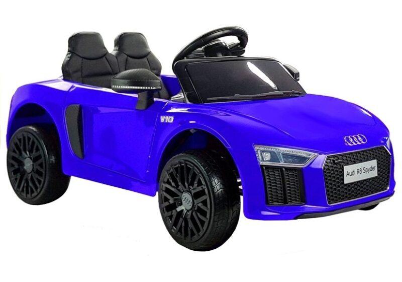 Audi R8 Spider na Akumulator Niebieskie