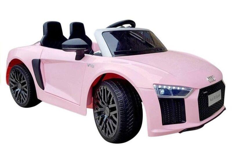 Audi R8 Spyder na Akumulator Różowe, baby-zone.pl