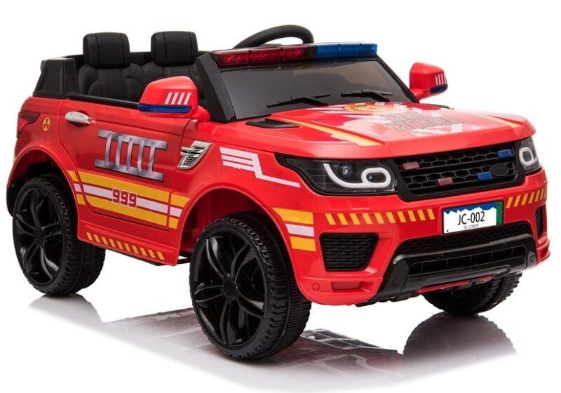 Auto na Akumulator Straż Pożarna JC002 Czerwony, baby-zone.pl