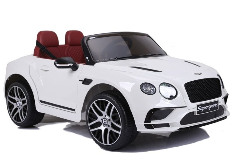 Bentley Supersports na Akumulator Biały