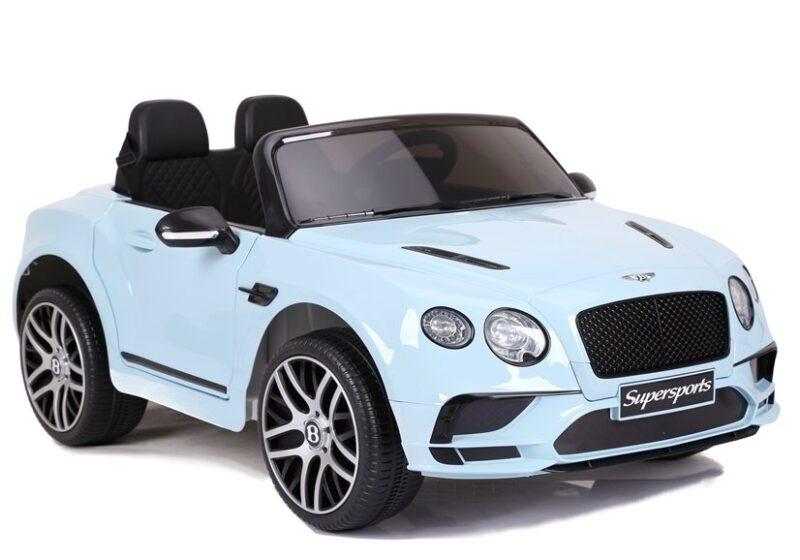 Bentley Supersports na Akumulator Niebieski Lakierowany