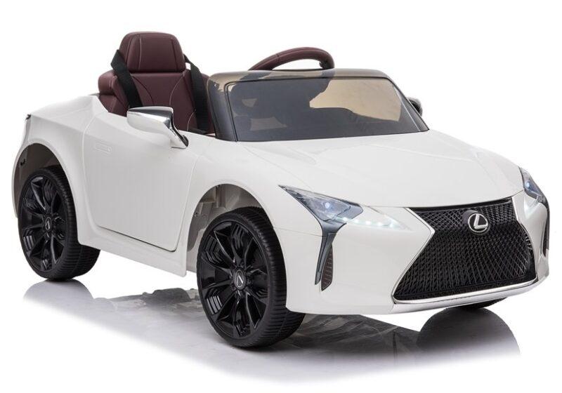 Lexus na akumulator Lakierowany Biały