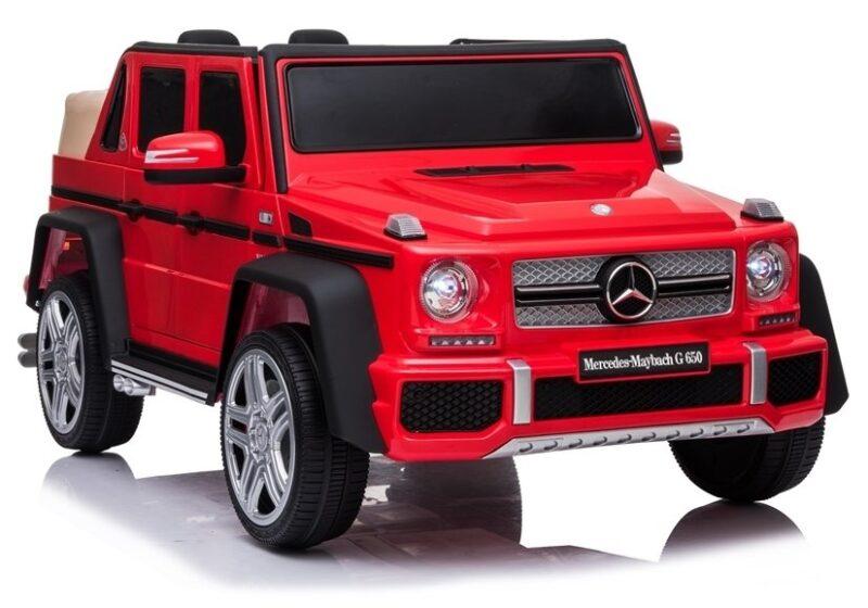Mercedes A100 na akumulator Lakierowany Czerwony