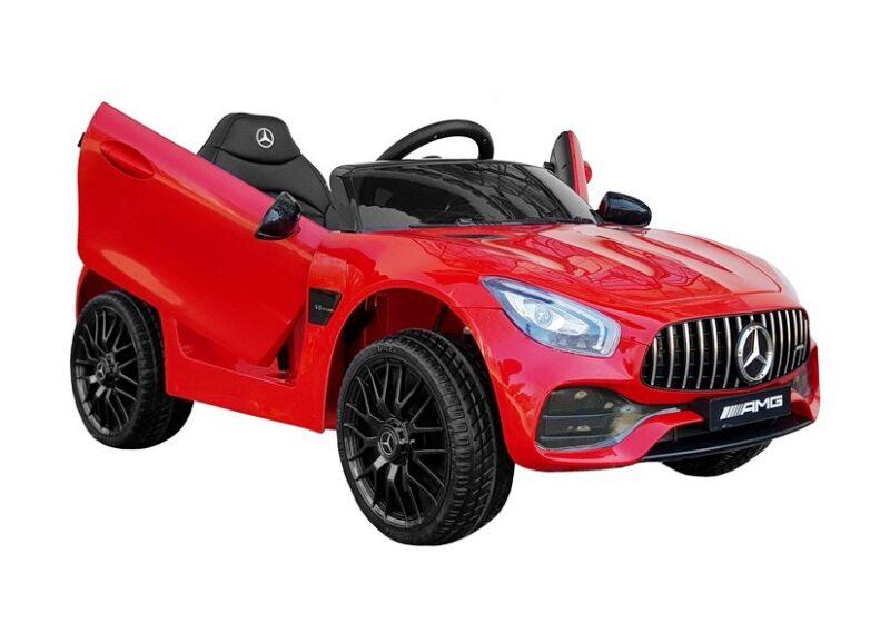 Mercedes AMG GT R na akumulator czerwony, baby-zone.pl