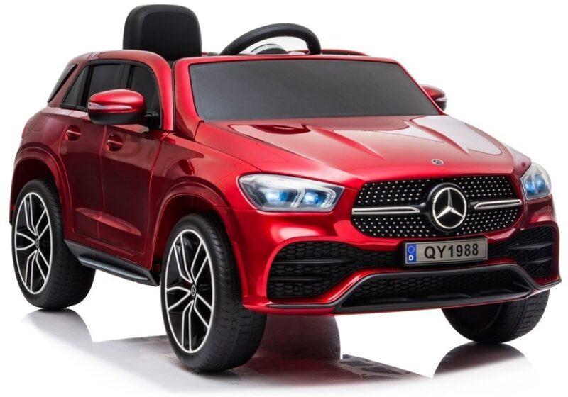 Mercedes GLE450 na Akumulator Czerwony Lakier, baby-zone.pl