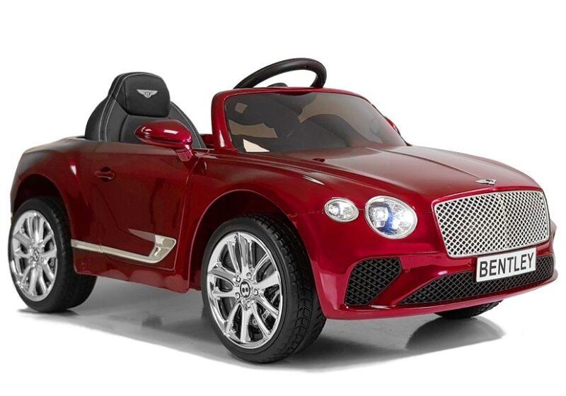 Bentley na Akumulator Czerwony Lakierowany
