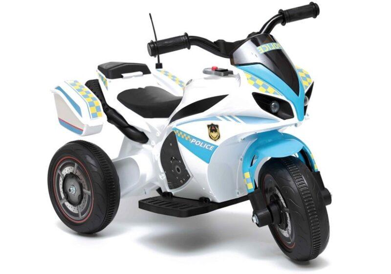 Motor na Akumulator Policja Biało-Niebieski