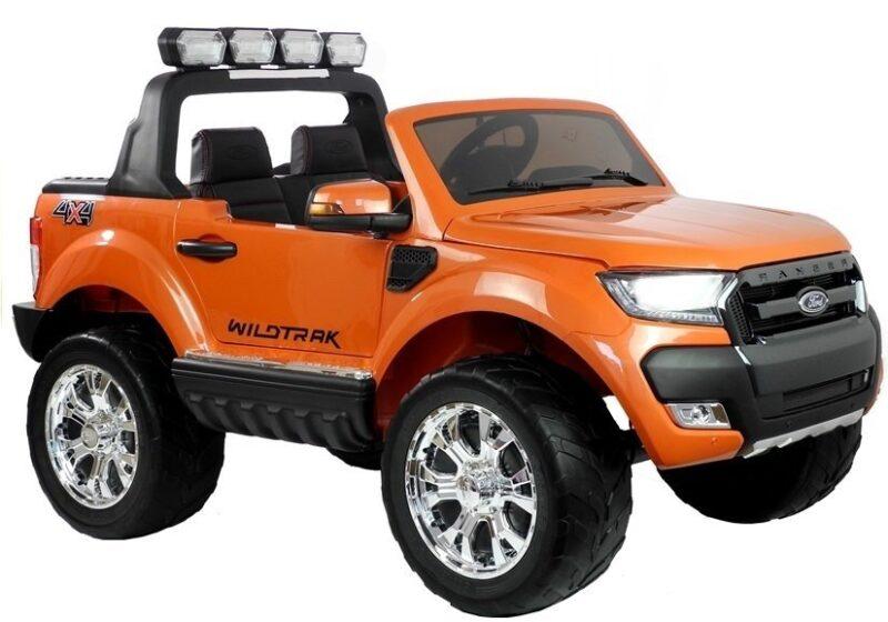 Ford Ranger 4x4 na Akumulator Pomarańczowy MP4 LCD