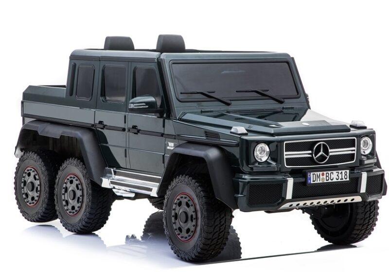 Mercedes G63 na Akumulator Czarny, baby-zone.pl