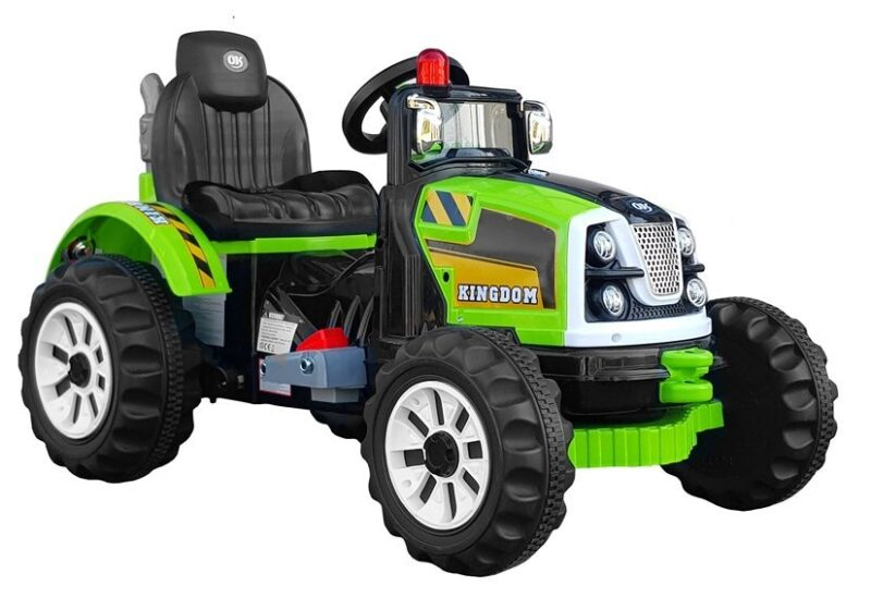 Traktor na Akumulator Zielony, baby-zone