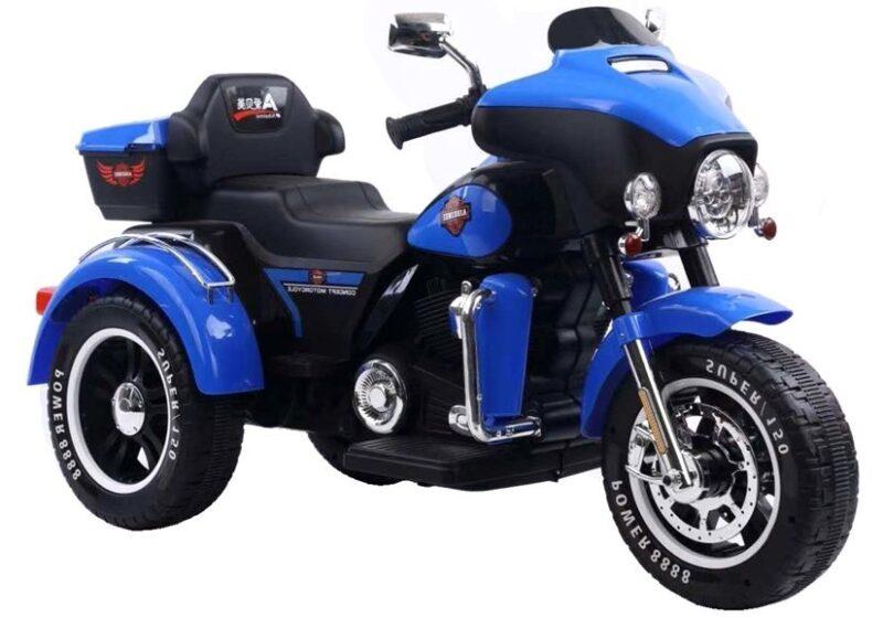 Motocykl na Akumulator ABM52 Niebieski, baby-zone